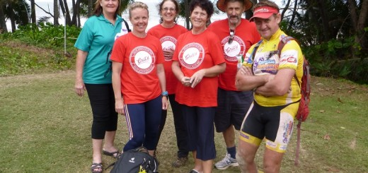 Die Bikeriders als Volunteers in Port Douglas