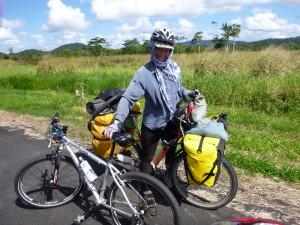 Megan from Australia, seit 5 Jahren mit dem Rad unterwegs