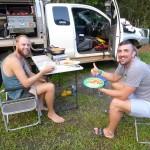 Rob und Duncan - ein unvergessener Abend
