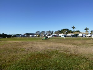 Das einzige Zelt auf dem Platz gehört mir...... in Mackay
