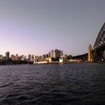Abendstimmung in Sydney Nord