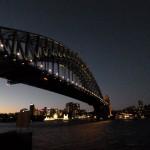 Harbour Brigde und Sydney Nord