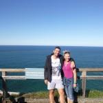 Mit Duncan am östlichsten Ort Australiens - Byron Bay