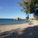 Wunderschöner Strand in Bowen