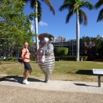 Brisbane ist seit 1989 ein wichtiger Handelsplatz für Wolle
