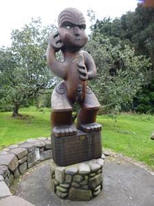 Maorischer Krieger