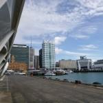 The Cloud und der Hafen von Auckland