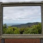Watakere Range - Der Rahmen gleich zum Bild