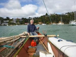 Pete und sein Segelboot