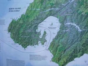 Wellington Habour Map